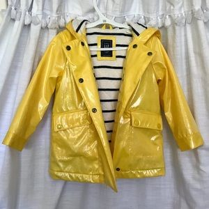 🆕 Gap Jersey-Lined Raincoat ☂